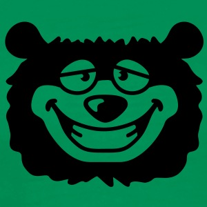 bear_head T-Shirts - Men's Premium T-Shirt