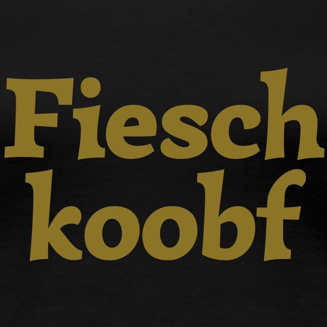 Grantl-Shirt Fieschkopf gold