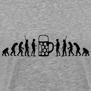 Beer Evolution  T-Shirts - Men's Premium T-Shirt