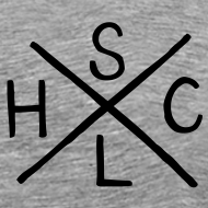 Design ~ SLHC X/crest t-shirt grey
