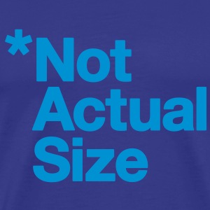 *Not Actual Size - Men's Premium T-Shirt