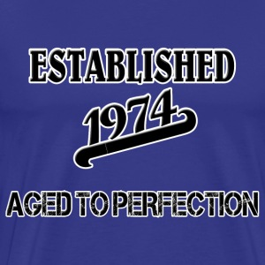 Established 1974 T-Shirts - Männer Premium T-Shirt