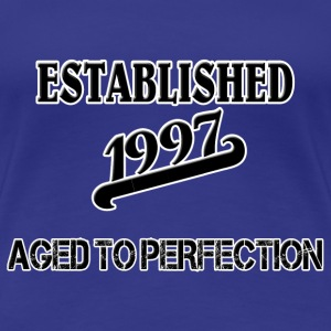 Established 1997 T-Shirts - Frauen Premium T-Shirt