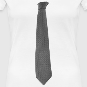 Grey Tie T-Shirts - Frauen Premium T-Shirt