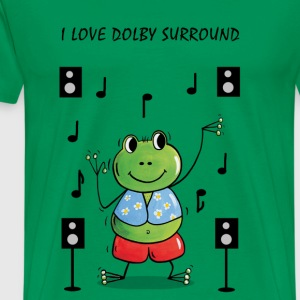 I Love Dolby Surround T-Shirts - Men's Premium T-Shirt