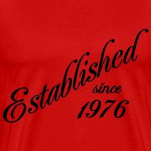 Established since 1976 T-shirts - Herre premium T-shirt