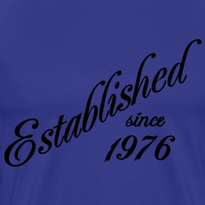 Established since 1976 Tee shirts - T-shirt Premium Homme