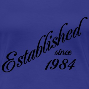 Established since 1984 Camisetas - Camiseta premium mujer