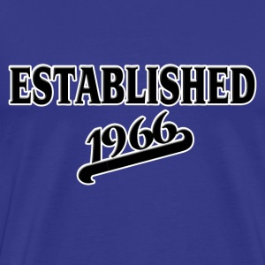 Established 1966 T-Shirts - Männer Premium T-Shirt