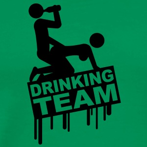 drinking_sex_team Tee shirts - T-shirt Premium Homme