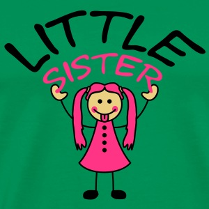 little_sister T-shirts - Mannen Premium T-shirt