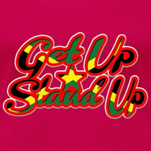 get up stand up T-Shirts - Women's Premium T-Shirt