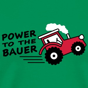 power_to_the_bauer T-skjorter - Premium T-skjorte for menn