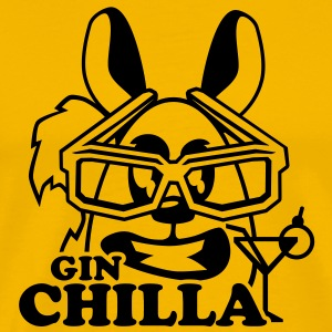 gin chilla chinchilla tier  T-Shirts - Männer Premium T-Shirt