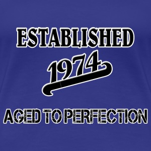 Established 1974 T-Shirts - Women's Premium T-Shirt