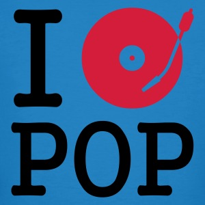 :: I dj / play / listen to pop :-: - Men's Organic T-shirt