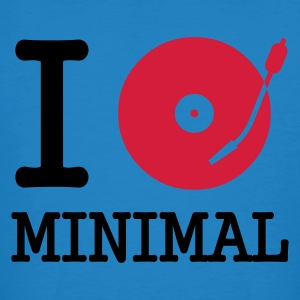 :: I dj / play / listen to minimal :-: - Men's Organic T-shirt