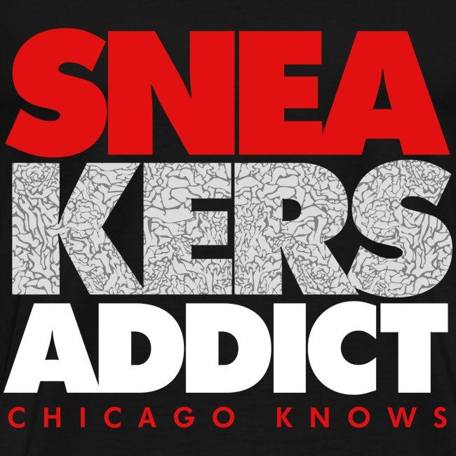 "T-Shirt ""Chicago Knows"" Homme Noir (Regular Fit TTS)"