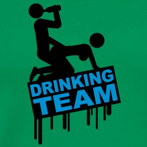 drinking_sex_team T-shirts - Premium-T-shirt herr