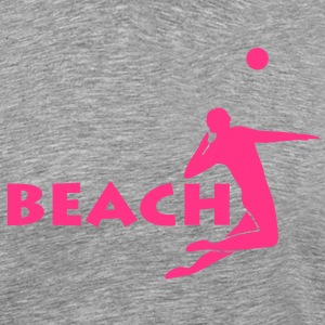 beach volleyball Beachvolleyball T-Shirts - Männer Premium T-Shirt