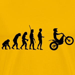 Moto Trial Evolution  T-Shirts - Men's Premium T-Shirt