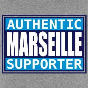 Authentic Marseille supporter Tee shirts - T-shirt Premium Femme