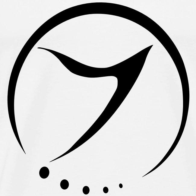 Mens Tee (black logo front)