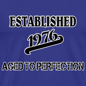 Established 1976 T-shirts - Herre premium T-shirt
