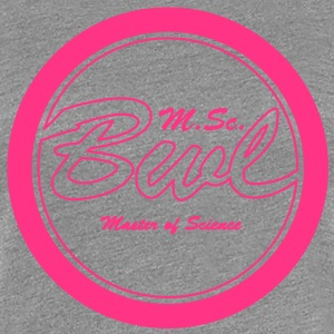 BWL Master of Science Betriebswirt T-Shirts - Frauen Premium T-Shirt