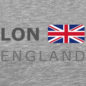 Classic T-Shirt LON ENGLAND BF dark-lettered - Men's Premium T-Shirt