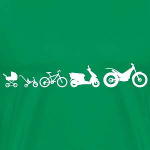 Evolution Moto Trial T-Shirts - Men's Premium T-Shirt