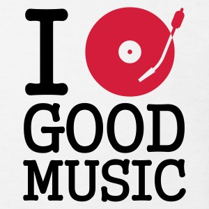 :: I dj / play / listen to good music :-: - Kinder Bio-T-Shirt