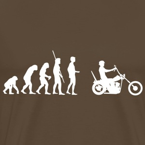 Evolution Chopper  Tee shirts - T-shirt Premium Homme