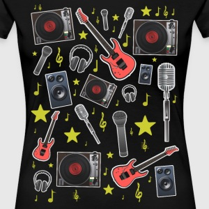 music theme T-Shirts - Women's Premium T-Shirt