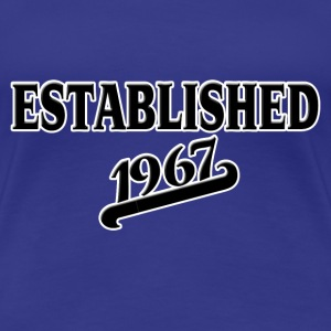 Established 1967 T-Shirts - Frauen Premium T-Shirt