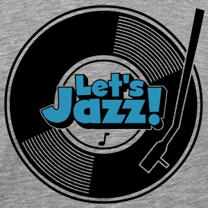 let's jazz wax T-Shirts - Men's Premium T-Shirt