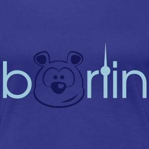 Berliner Bär - der Bärlin Shirt for Girls - Frauen Premium T-Shirt