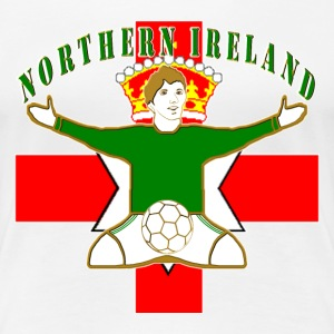 Northern Ireland football celebration T-Shirts - Women's Premium T-Shirt