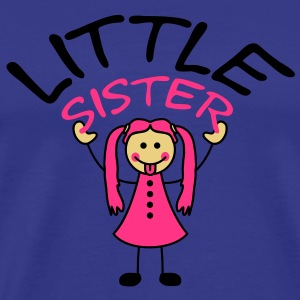 little_sister T-shirts - Herre premium T-shirt