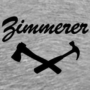Zimmermann zimmerer handwerker bekleidung for Holzverbindungen zimmermann