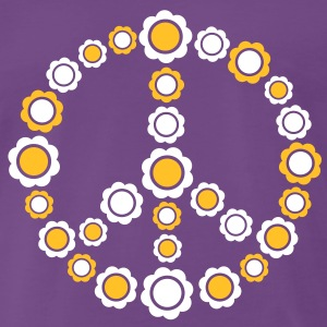 hippie hippy peace T-shirts - Mannen Premium T-shirt