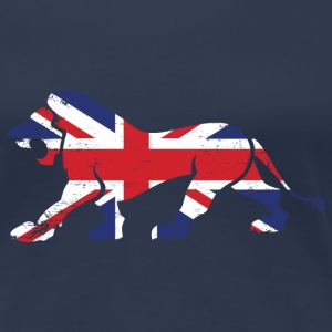GB Lion T-Shirts - Frauen Premium T-Shirt