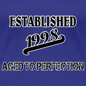 Established 1998 Camisetas - Camiseta premium mujer