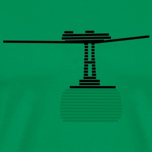 cable car - Men's Premium T-Shirt