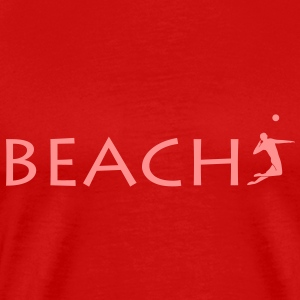 Beachvolleyball Volleyball Beach T-Shirts - Männer Premium T-Shirt