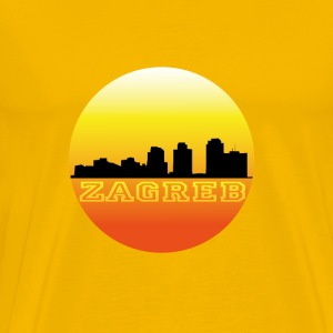 Zagreb by sunset T-Shirts - Men's Premium T-Shirt