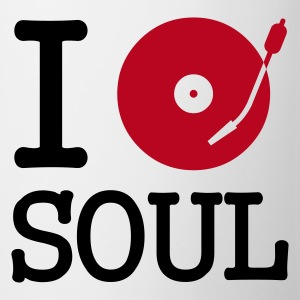 :: I dj / play / listen to soul :-: - Mug