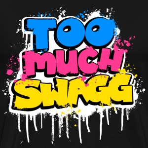TOO MUCH SWAGG graffiti T-Shirts - Men's Premium T-Shirt