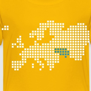 Yellow Ukraine Shirts - Kids' Premium T-Shirt