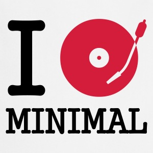 :: I dj / play / listen to minimal :-: - Cooking Apron